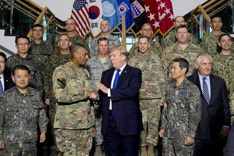 在韓米軍の手でバ韓国塵を駆逐してほしい