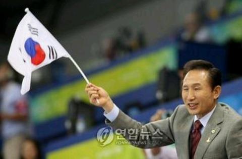 大統領ですら国旗の上下を理解していないバ韓国