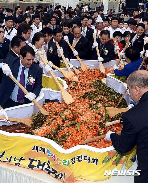 ゲロや汗や痰まみれのバ韓国料理