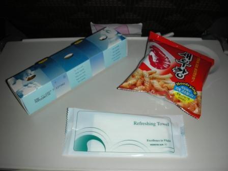 国際線でも堂々とパクリ商品を提供する大韓航空
