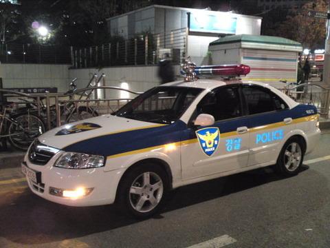 バ韓国警察の間抜けっぷりは異常