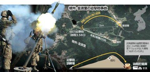 バ韓国軍、訓練中の誤射で大惨事寸前!