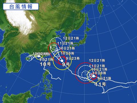 台風9号の活躍に期待!