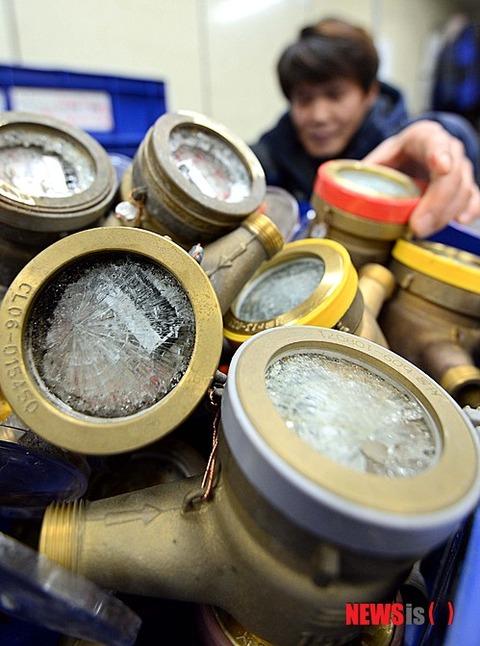 水道メーターがすぐに壊れるバ韓国