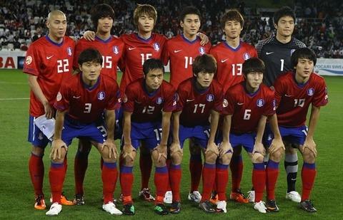 沈没が約束されている韓国チーム