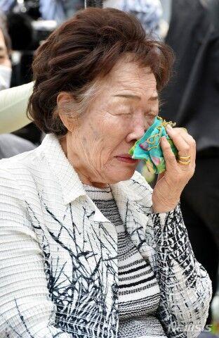 寄付金を我が物にしたいバ韓国の李容洙