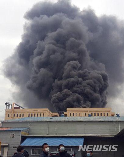 火災でも大気汚染を行うバ韓国