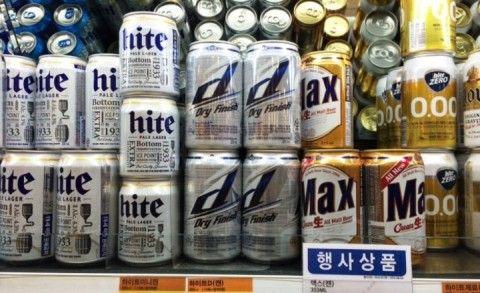 バ韓国塵にはバ韓国産の小便ビールがお似合い
