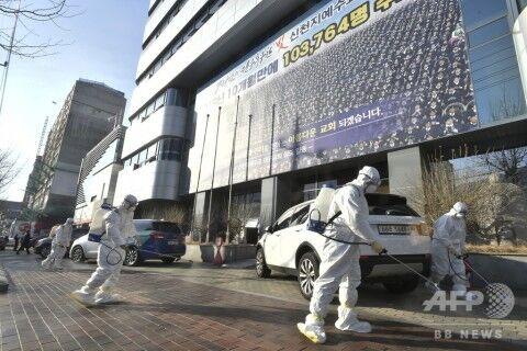 ゲイコロナの勢いが止まらないバ韓国