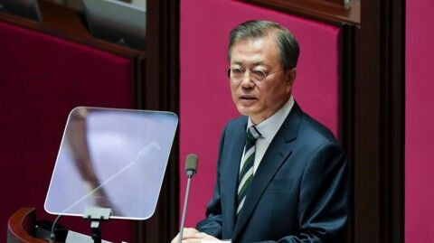 バ韓国与党が大統領の重任制を訴える