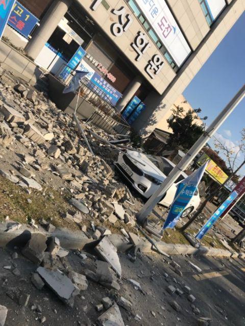 震度ゼロで崩壊するのがバ韓国クオリティ