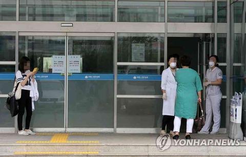 患者を放置して逃げ出す医者だらけのバ韓国