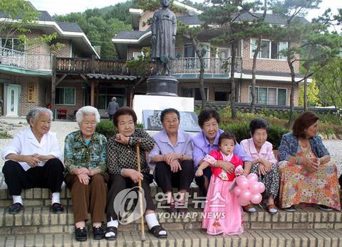 売春婦どもが他者の金で楽しく老後を過ごすバ韓国