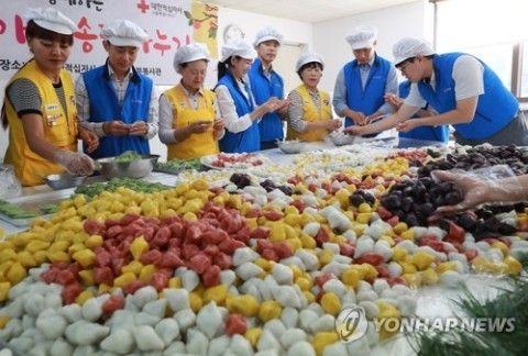 不衛生な餌作りが得意なバ韓国塵