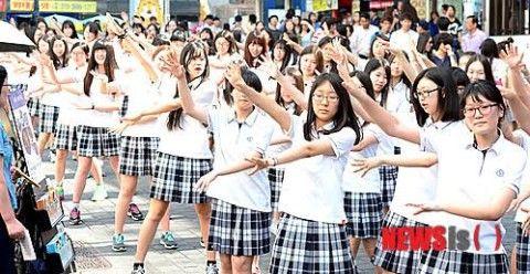 バ韓国のJKは化け物ばかりwwww