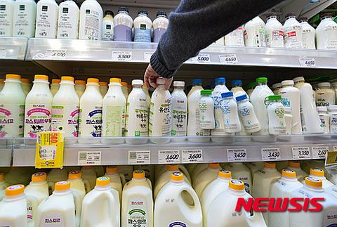 大腸菌満載のバ韓国産牛乳