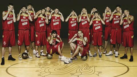 スペイン男子バスケ代表チーム