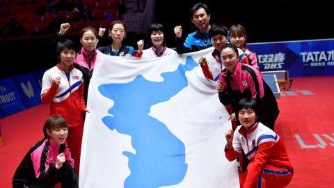 バ韓国の反対で南北合同チームが頓挫