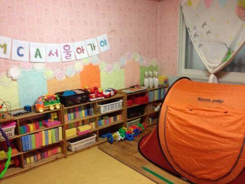 バ韓国の託児所が半年ぶりに再開される