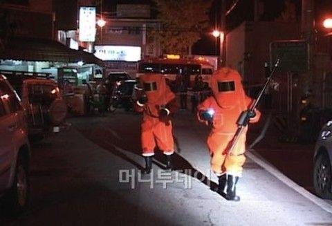 バ韓国の首都は放射能に汚染されています