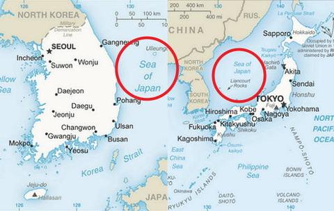 早く世界地図からKOREAの文字が無くなりますように