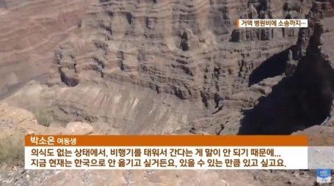 ナイアガラの滝からバ韓国塵が転落