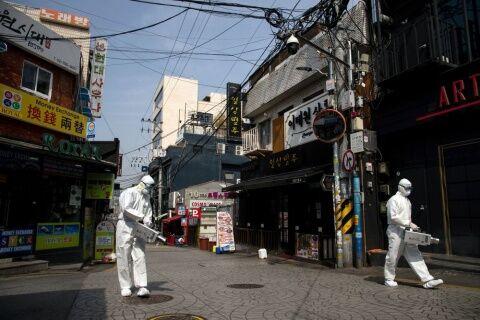 ゲイコロナでバ韓国塵どもが多数死にますように
