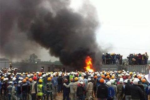 サムスンの海外工場では暴動も茶飯事