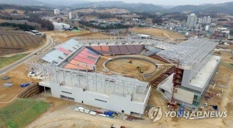 平昌冬季五輪が黒字だったと報告するバ韓国