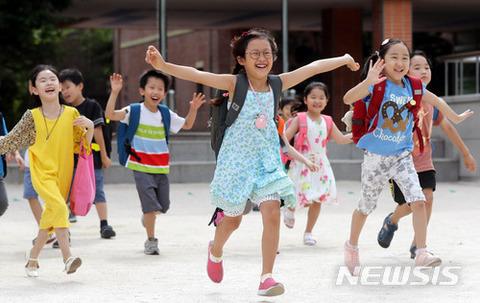全匹精神異常を患っているバ韓国の小学生