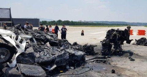 あちこちで墜落しているバ韓国製ヘリ