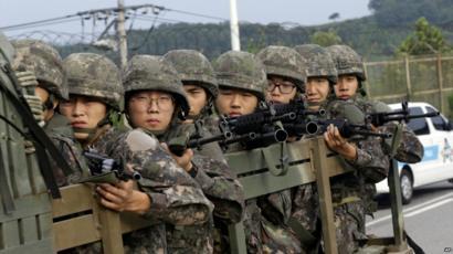 世界最弱のお笑い集団、それがバ韓国軍