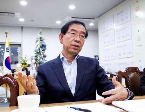 ソウル市長の朴元淳