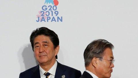 バ韓国塵に嫌われている安倍首相