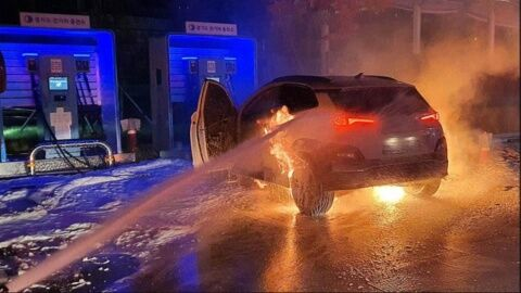 バ韓国の電気自動車は爆発機能を搭載