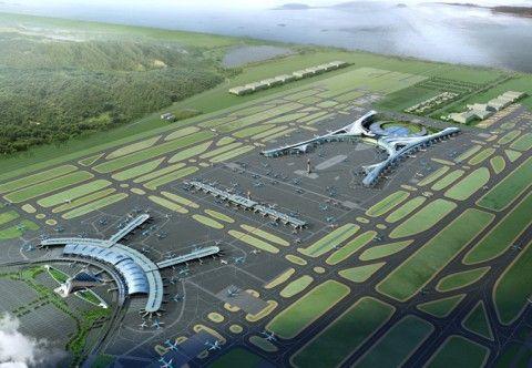 空港ごと爆発しそうな仁川国際空港