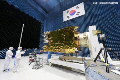 バ韓国製の気象衛星「千里眼2A号」