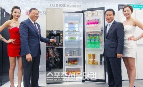 殺人冷蔵庫を日本に送り出す韓国のLG電子