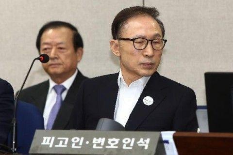 バ韓国・元大統領の李明博に懲役20年