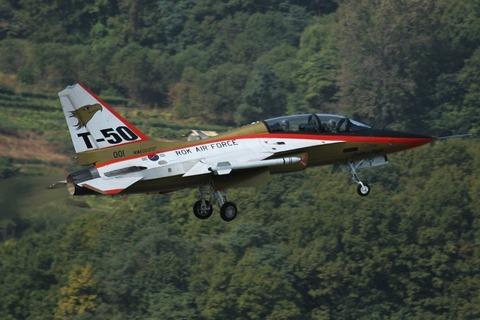 開発以降何度も墜落しているバ韓国のT-50