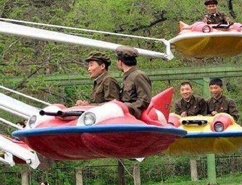 実戦訓練中のチョンパイロット