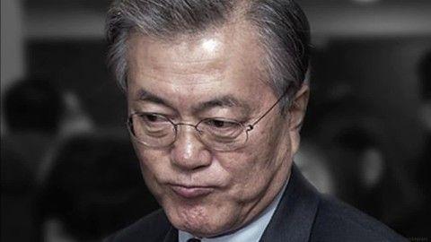 バ韓国塵の分際で原則と正義を口にした文大統領