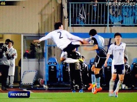 バ韓国塵がやっているのはサッカーもどき