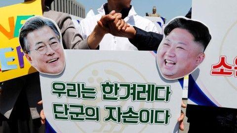 バ韓国が五輪の南北共催を提案だと?