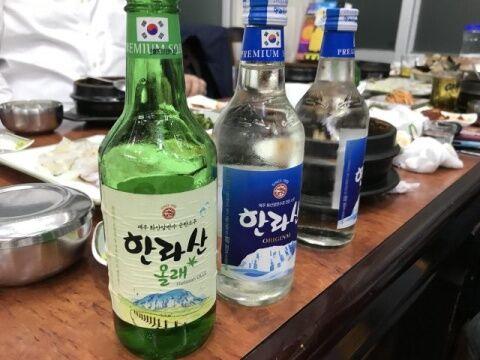 バ韓国の焼酎は水と同じ味なのか?