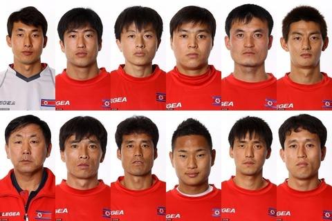 韓国代表なんて顔の区別が不可能ですwww