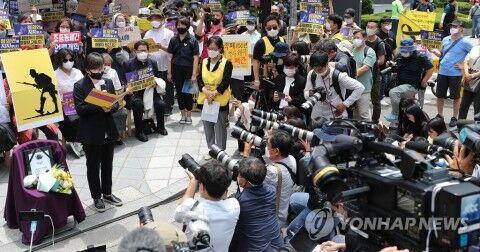 メディアを批判するバ韓国の正義連