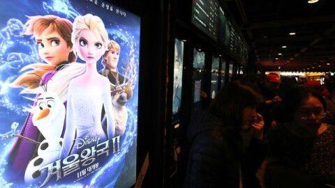 バ韓国のハングル表記で駄作に見えるアナ雪2