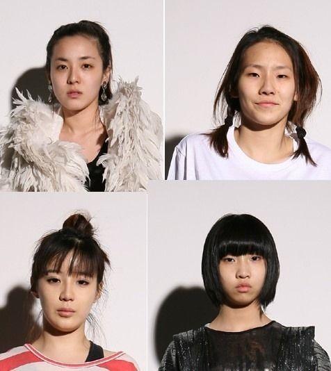 2NE1のメスどもの整形前の画像