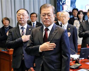 バ韓国最後の大統領になってほしい
